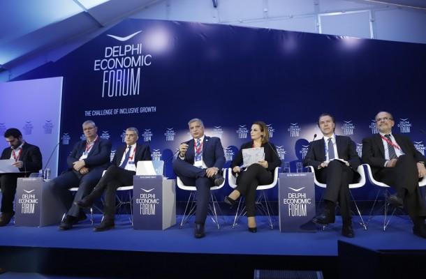 Τοποθέτηση του Προέδρου της ΚΕΔΕ Γ. Πατούλη στο Οικονομικό Φόρουμ των Δελφών σε θεματική συζήτηση για τη ανάπτυξη σε σχέση με την Περιφερειακή και Τοπική Διακυβέρνηση
