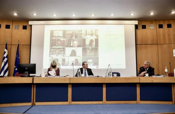 Παρουσία του ΥΠΕΣ Μ. Βορίδη η πρώτη συνεδρίαση του νέου αναβαθμισμένου  ΔΣ του Ε.Κ.Δ.Δ.Α.