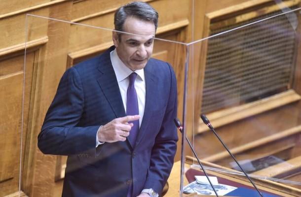 Απαντήσεις στον Αλέξη Τσίπρα για όσα είπε για το εργασιακό νομοσχέδιο έδωσε ο Κυριάκος Μητσοτάκης με τη δευτερολογία του