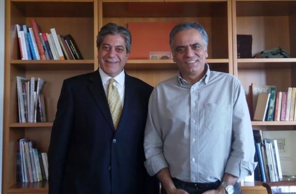 Συνάντηση του Υπουργού Εσωτερικών με τον Πρέσβη της Παλαιστίνης
